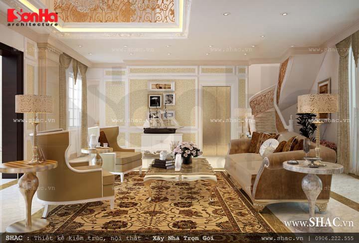 Có thể nói đây là một tác phẩm nội thất đầy tính nghệ thuật, tông màu sáng luôn đem lại sự thư thái và thoải mái