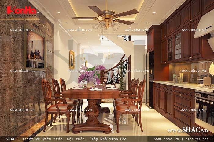 Chiêm ngưỡng nội thất kiểu Pháp của ngôi nhà ống ở Hà Nội