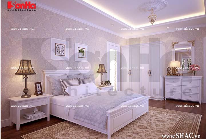 Với thiết kế phòng ngủ đẹp, ấm cúng mang lại giấc ngủ sâu và êm ái