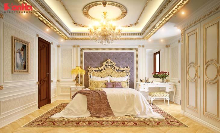 Nội thất Pháp cho phòng ngủ thêm sang trọng